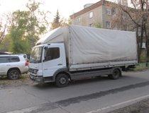 Автопарк автомобилей для грузоперевозки 3 тонн