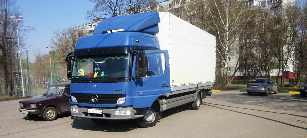 Грузовые перевозки 5 тонн по Москве и области