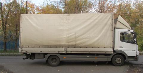 Заказ грузовой перевозки 3 тонны по всей России
