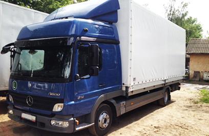Доставка и срочная перевозка грузов 5 тонн по всей России