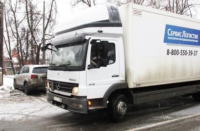 Перевозки грузов мерседес атего 5 тонн