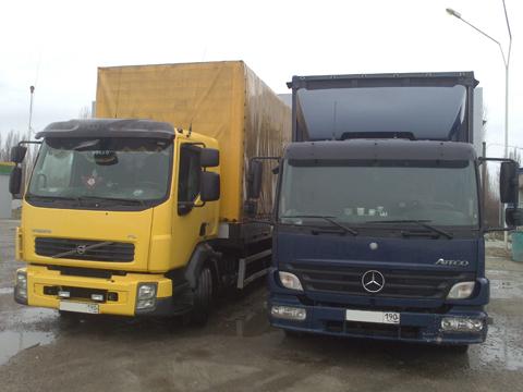 Срочная доставка грузов автомобилями по всей России